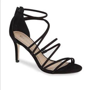 Klub Nico Ashton black strappy sandal NWT